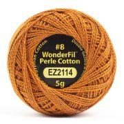 Wonderfil Eleganza Alison Glass Penny, (EL5G-2114) 8wt Cotton Thread 5g balls by Wonderfil Eleganza Perle 8 Balls Eleganza 8wt Alison Glass - OzQuilts