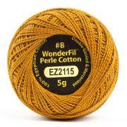 Wonderfil Eleganza Alison Glass Yarrow, (EL5G-2115) 8wt Cotton Thread 5g balls by Wonderfil Eleganza Perle 8 Balls Eleganza 8wt Alison Glass - OzQuilts