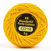Wonderfil Eleganza Alison Glass No.2 Pencil, (EL5G-2116) 8wt Cotton Thread 5g balls by Wonderfil Eleganza Perle 8 Balls Eleganza 8wt Alison Glass - OzQuilts