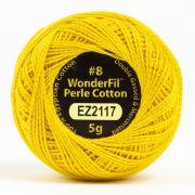 Wonderfil Eleganza Alison Glass Sunshine, (EL5G-2117) 8wt Cotton Thread 5g balls by Wonderfil Eleganza Perle 8 Balls Eleganza 8wt Alison Glass - OzQuilts