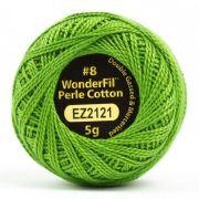 Wonderfil Eleganza Alison Glass Shamrock, (EL5G-2121) 8wt Cotton Thread 5g balls by Wonderfil Eleganza Perle 8 Balls Eleganza 8wt Alison Glass - OzQuilts
