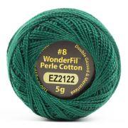 Wonderfil Eleganza Alison Glass Peacock, (EL5G-2122) 8wt Cotton Thread 5g balls by Wonderfil Eleganza Perle 8 Balls Eleganza 8wt Alison Glass - OzQuilts