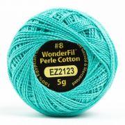 Wonderfil Eleganza Alison Glass Dragonfly, (EL5G-2123) 8wt Cotton Thread 5g balls by Wonderfil Eleganza Perle 8 Balls Eleganza 8wt Alison Glass - OzQuilts