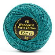 Wonderfil Eleganza Alison Glass Grasshopper, (EL5G-2125) 8wt Cotton Thread 5g balls by Wonderfil Eleganza Perle 8 Balls Eleganza 8wt Alison Glass - OzQuilts