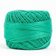 Wonderfil Eleganza Alison Glass Jade, (EL5G-2126) 8wt Cotton Thread 5g balls by Wonderfil Eleganza Perle 8 Balls Eleganza 8wt Alison Glass - OzQuilts