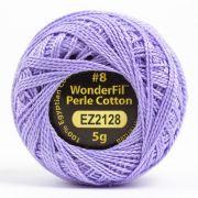 Wonderfil Eleganza Alison Glass Periwinkle, (EL5G-2128) 8wt Cotton Thread 5g balls by Wonderfil Eleganza Perle 8 Balls Eleganza 8wt Alison Glass - OzQuilts