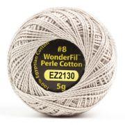 Wonderfil Eleganza Alison Glass Flax, (EL5G-2130) 8wt Cotton Thread 5g balls by Wonderfil Eleganza Perle 8 Balls Eleganza 8wt Alison Glass - OzQuilts