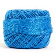 Wonderfil Eleganza Alison Glass Blue Bonnet, (EL5G-2131) 8wt Cotton Thread 5g balls by Wonderfil Eleganza Perle 8 Balls Eleganza 8wt Alison Glass - OzQuilts