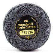 Wonderfil Eleganza Alison Glass Charcoal, (EL5G-2134) 8wt Cotton Thread 5g balls by Wonderfil Eleganza Perle 8 Balls Eleganza 8wt Alison Glass - OzQuilts