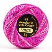 Wonderfil Eleganza Alison Glass Tyrian, (EL5GM-2201) 8wt Cotton Thread 5g balls by Wonderfil Eleganza Perle 8 Balls Eleganza 8wt Alison Glass - OzQuilts