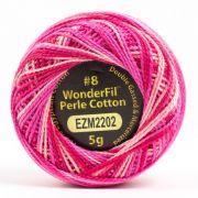 Wonderfil Eleganza Alison Glass Cosmos, (EL5GM-2202) 8wt Cotton Thread 5g balls by Wonderfil Eleganza Perle 8 Balls Eleganza 8wt Alison Glass - OzQuilts