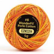 Wonderfil Eleganza Alison Glass Tiger, (EL5GM-2204) 8wt Cotton Thread 5g balls by Wonderfil Eleganza Perle 8 Balls Eleganza 8wt Alison Glass - OzQuilts