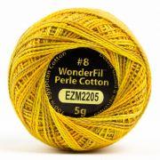Wonderfil Eleganza Alison Glass Marigold, (EL5GM-2205) 8wt Cotton Thread 5g balls by Wonderfil Eleganza Perle 8 Balls Eleganza 8wt Alison Glass - OzQuilts