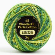Wonderfil Eleganza Alison Glass Turtle, (EL5GM-2207) 8wt Cotton Thread 5g balls by Wonderfil Eleganza Perle 8 Balls Eleganza 8wt Alison Glass - OzQuilts
