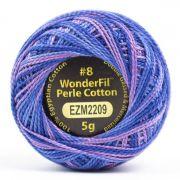 Wonderfil Eleganza Alison Glass Liberty, (EL5GM-2209) 8wt Cotton Thread 5g balls by Wonderfil Eleganza Perle 8 Balls Eleganza 8wt Alison Glass - OzQuilts