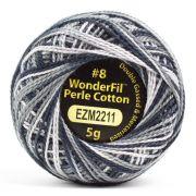 Wonderfil Eleganza Alison Glass Pepper, (EL5GM-2211) 8wt Cotton Thread 5g balls by Wonderfil Eleganza Perle 8 Balls Eleganza 8wt Alison Glass - OzQuilts