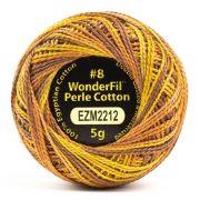 Wonderfil Eleganza Alison Glass Tawny, (EL5GM-2212) 8wt Cotton Thread 5g balls by Wonderfil Eleganza Perle 8 Balls Eleganza 8wt Alison Glass - OzQuilts