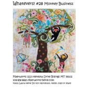 Whatevers! #28 Monkey Business Collage Pattern by Laura Heine by Fiberworks - Collage