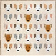 Puppies Quilt Kit by Elizabeth Hartman by Elizabeth Hartman - Kits
