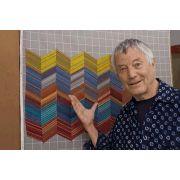 Kaffe Fassett Design Wall Flannel 112cm x 25cm End of Bolt by The Kaffe Fassett Collective - Quilt Batting Offcuts & End of Rolls
