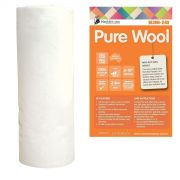 Matilda's Own 100% Wool Batting , 2.4 metres wide x 40cm End of Roll by Matilda's Own - Quilt Batting Offcuts & End of Rolls