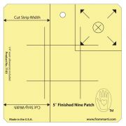 "Marti Michell 5"" Nine Patch Ruler by Marti Michell Quilt Blocks - OzQuilts"