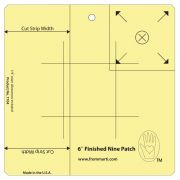 "Marti Michell 6"" Nine Patch Ruler by Marti Michell Quilt Blocks - OzQuilts"