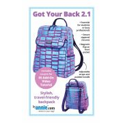 Got Your Back 2.1 Bag Pattern by Annie Unrein by ByAnnie - Bag Patterns