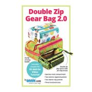 Double Zip Gear Bags 2.0, by Annie Unrein by By Annie - Patterns & Books