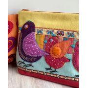 Birds on Parade Sac Sue Spargo Pattern by Sue Spargo - Sue Spargo