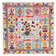 Tea Party Quilt Pattern by Wendy Williams by Wendy Williams of Flying FIsh Kits - Wendy Williams