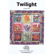 Twilight Quilt Pattern by Wendy Williams by Wendy Williams of Flying FIsh Kits - Wendy Williams