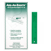 "Add-An-Eighth Ruler 6"" by CM Designs - Add A Quarter Rulers"