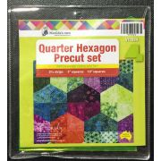 Matilda's Own Quarter Hexagon Precut Template Set by Matilda's Own - Quilt Blocks