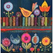 Thread Book - Flower Garden Pattern by Wendy Williams by Wendy Williams of Flying FIsh Kits - Storage & Accessories