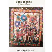 Baby Blooms Quilt Pattern by Wendy Williams by Wendy Williams of Flying FIsh Kits - Wendy Williams