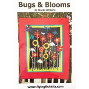 Bugs and Blooms Quilt Pattern by Wendy Williams by Wendy Williams of Flying FIsh Kits - Wendy Williams