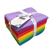 Freespirit Designer Essentials Colour Spectrum 20 Fat Quarter Collection by  Fat Quarter Packs - OzQuilts