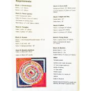 Full Circle Quilt Pattern Booklet by Wendy Williams by Wendy Williams of Flying FIsh Kits - Wendy Williams