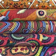 Aboriginal Art Fabric 20 Fat Quarter Bundle A by M & S Textiles - Fat Quarter Packs