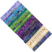 "Island Batik Strip Tease Pack 40 x 2 1/2"" strips - Juicy Juice by Island batik Batik - OzQuilts"