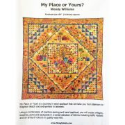 My Place or Yours Quilt Pattern Booklet by Wendy Williams by Wendy Williams of Flying FIsh Kits - Wendy Williams