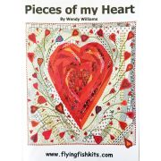 Pieces of My Heart Pattern by Wendy Williams by Wendy Williams of Flying FIsh Kits - Wendy Williams
