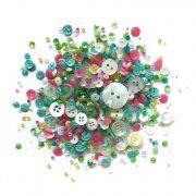 Shaker Mix Rainbow Unicorn by Buttons Galore - Beads