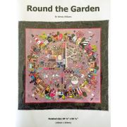 Round the Garden Pattern Booklet by Wendy Williams by Wendy Williams of Flying FIsh Kits - Wendy Williams