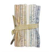 Artisan Batik Elementals Collection 13 Fat Quarters - Sandstone Collection by Hoffman - Fat Quarter Packs