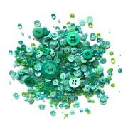 Shaker Mix Sea Glass by Buttons Galore - Beads