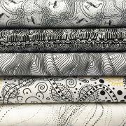 Aboriginal Art Fabric 20 Fat Quarter Bundle DD by M & S Textiles - Fat Quarter Packs