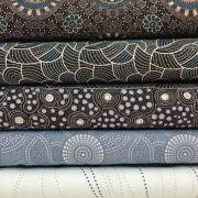 Aboriginal Art Fabric 20 Fat Quarter Bundle U by M & S Textiles Fat Quarter Packs - OzQuilts