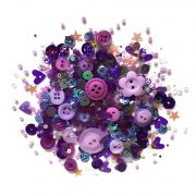 Lilac Lane Sequins Vineyard Hues by Buttons Galore - Beads